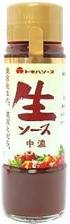 トキハ 生ソース 中濃 200ml(旧 正直村の生そうす 中濃)