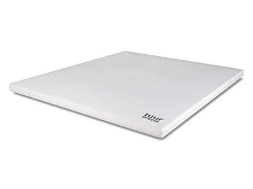 TUUR Topper Matratzenauflage 180 x 200 cm aus 100% natürlichen Materialien und 7 ergonomischen Komfortzonen - 10 Jahre Garantie