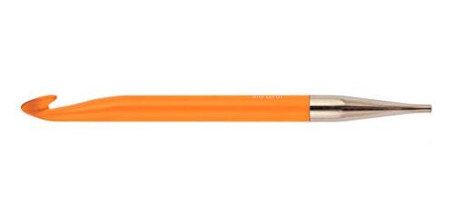 Knit PRO 10,00 mm Acryl Trendz afghanisch/tunesisch Single Ended Häkelnadel, Orange