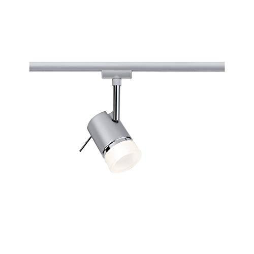 976.12 Paulmann Leuchten URail Spot Pipe max.1x10W GU10 Chrom mat Chrom 230V Metal