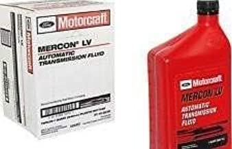 Motorcraft MERCON LV Automatic Transmission Fluid (ATF) 12 Quart Case