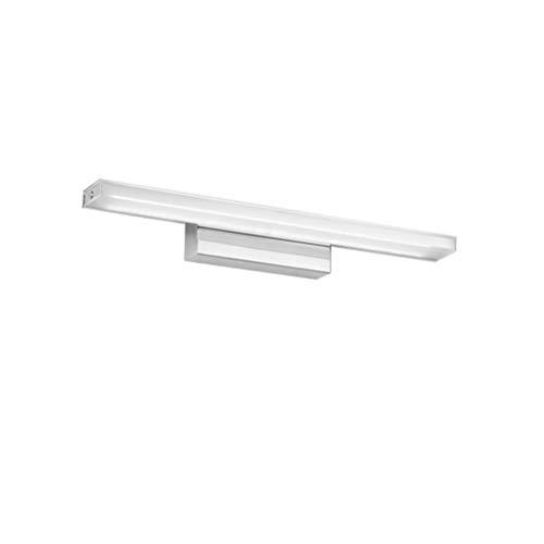 SOLUSTRE Lámpara LED para espejo de baño, antiniebla, resistente al agua, regulable, 12 W, color blanco puro