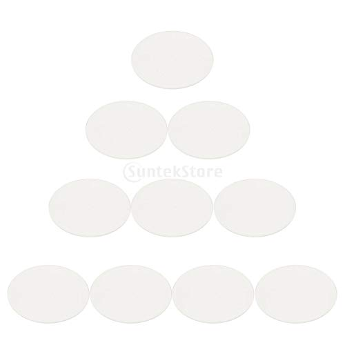 IPOTCH Parti di Lenti per Orologi in Vetro Minerale A Cupola da 20 Pezzi per Orologiaio - 21,5mm