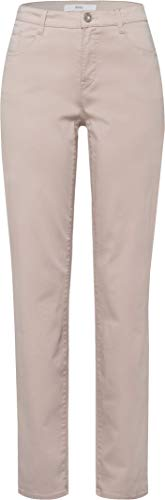 BRAX Damen Style Carola Smart Cotton Hose, BEIGE, 46W / 32L