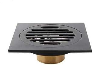 Drains - Drains Bathroom Sink Bathtub Accessories Brass Matte Black Square Style Floor Drainer Waste Bathroom Shower Drain...