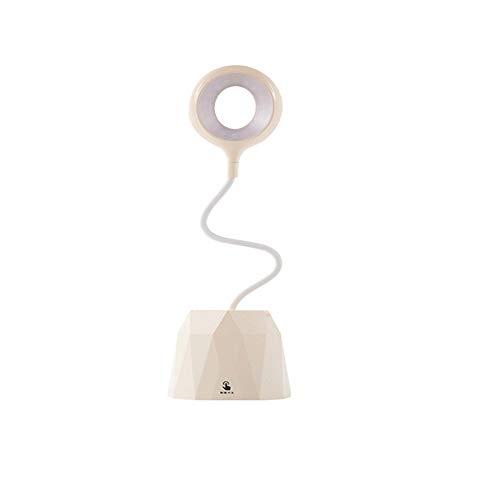 YQZX Lámpara Recargable táctil LED Lámpara de Escritorio Lectura de Ojo de Ojo multifunción USB USB Luz de Noche,White- Power Bank Models