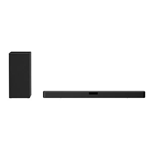 LG SN5Y 2.1 ch 400W High Res Audio Sound Bar with DTS Virtual:X, Black