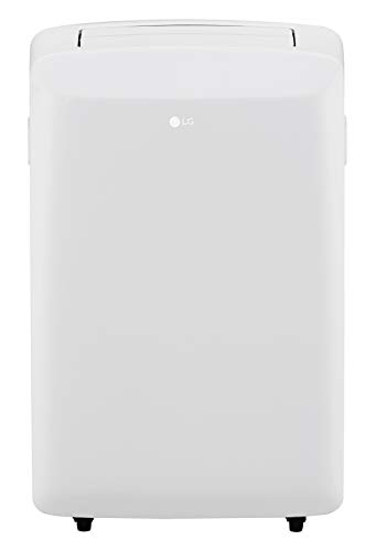 LG LP0817WSR 115V Portable Air Conditioner with Remote Control in White for...
