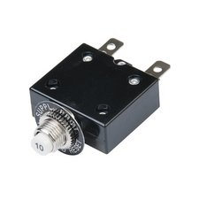 40 Amp 1/4 Inchquick Connect Push Button Circuit Breaker 1 Min