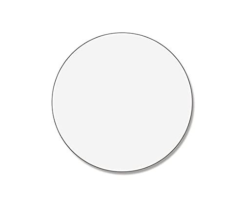 シモジマ タックラベルシール 30mm 透明シール 1束(12片×4シート入) 007062158