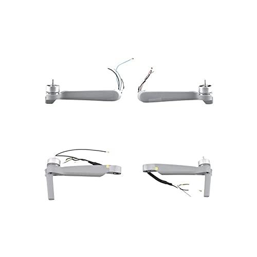 Braccia a sinistra / destra braccio posteriore anteriore con riparazione di ingranaggi di atterraggio, per DJI. Accessorio del drone dei pezzi di ricambio Air 2S Mavic Air 2S ( Color : Arms 4 in 1 )