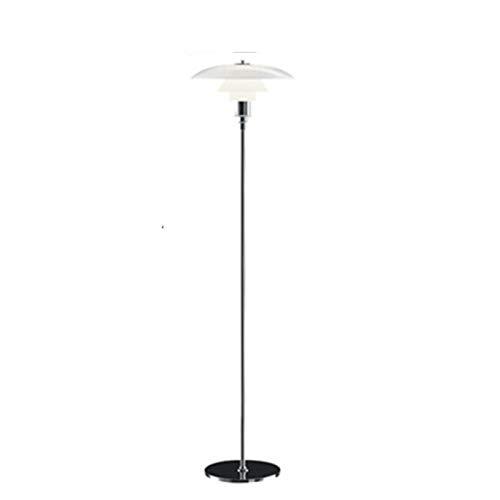 XIAOBMY Lámpara de Pie Luces de Piso nórdicas PH 3 Lámparas de pie for la Sala de Estar Dinamarca Designer lámpara Soporte Decorativo lámpara de pie Lámpara de pie Moderno