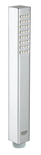 GROHE Euphoria Cubeund Stick 27884001 Handdouche voor douches en douches, 1 straal, normale straal, chroom,