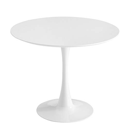 Actona Ventemeublesonline Table Ronde Blanche Ibiza