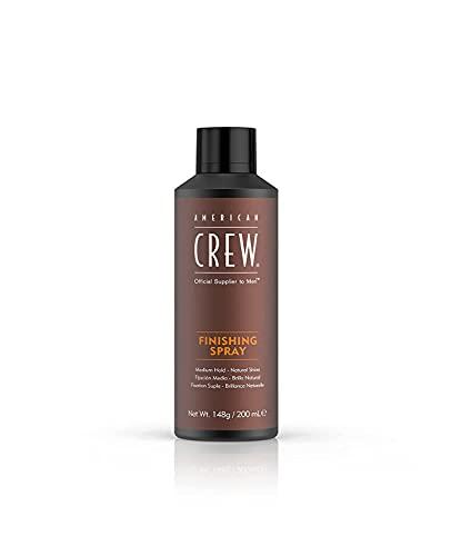 American Crew Finishing Spray Lacca Capelli Uomo Men Hairstyling Tenuta Media Lunga Durata Finish Naturale - 200 ml