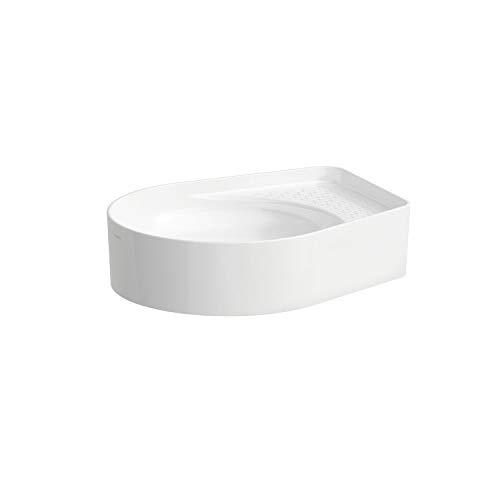 Laufen VAL Waschtisch-Schale, ohne Hahnloch, ohne Überlauf, US geschl. 500x400, Farbe: Snow (weiß matt)