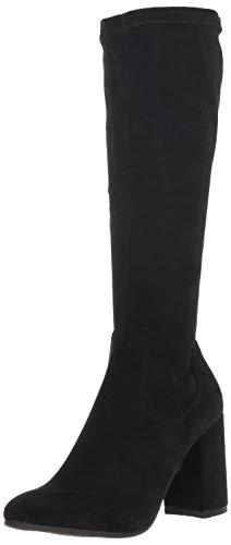 ESPRIT Damen Violetta modischer Stiefel, schwarz, 40 EU