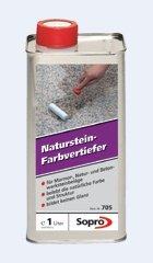 Sopro Naturstein Farbvertiefer 705 f. Marmor Natur u. Betonwerksteinbeläge bildet keinen Glanz 1ltr