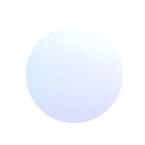 BESPORTBLE Wasserdicht leuchtende kugel aufblasbare leuchtende kugel pvc fernbedienung led ball dekorative wasserball für zuhause im freien (weiß)
