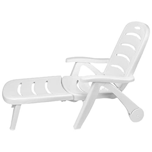 YERT Tumbona de Playa para Piscina, Tumbona, sillón Plegable al Aire Libre...
