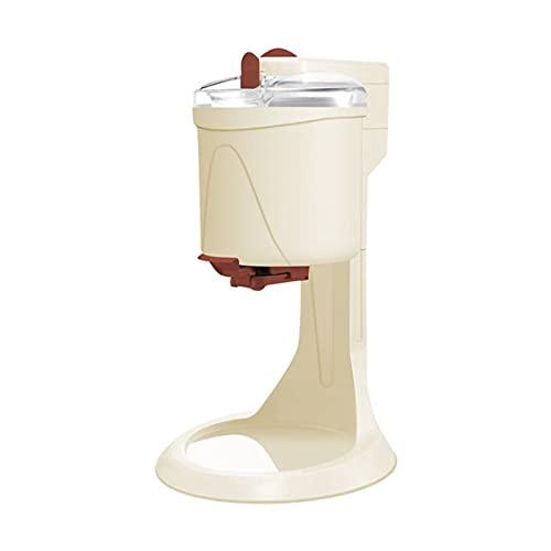 QNMM Máquina de Helados, 1000Ml de Alta Capacidad para El Hogar Mini Máquina de Helados de Frutas Completamente Automática para El Hogar Cocina Eléctrica de Bricolaje para Niños