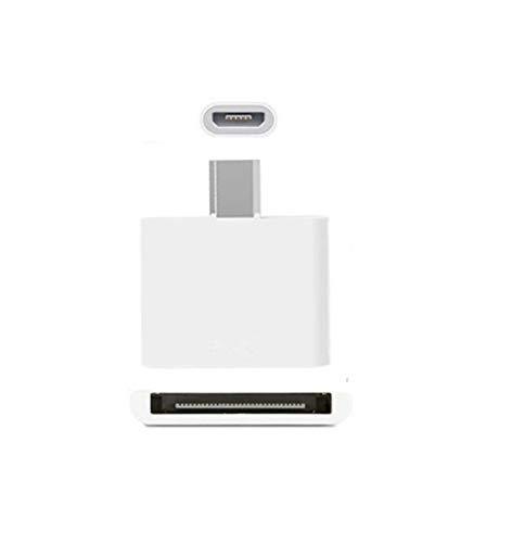 Adapter, 30-Pin-Buchse auf Micro-USB-Stecker, Adapter für das iPhone 3G 3GS 44S