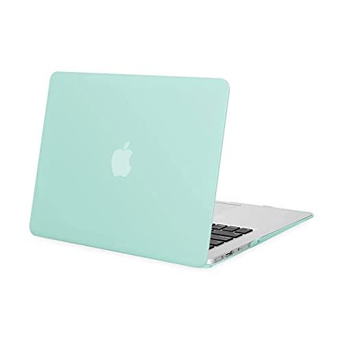 MOSISO Funda Dura Compatible con MacBook Air 13 Pulgadas (A1369 / A1466, Versión 2010-2017), Ultra Delgado Carcasa Rígida Protector de Plástico Cubierta, Verde