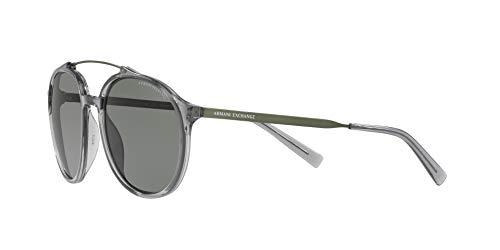 Armani sunglasses for men and women AX Armani Exchange Men's Ax4069s Round Sunglasses
