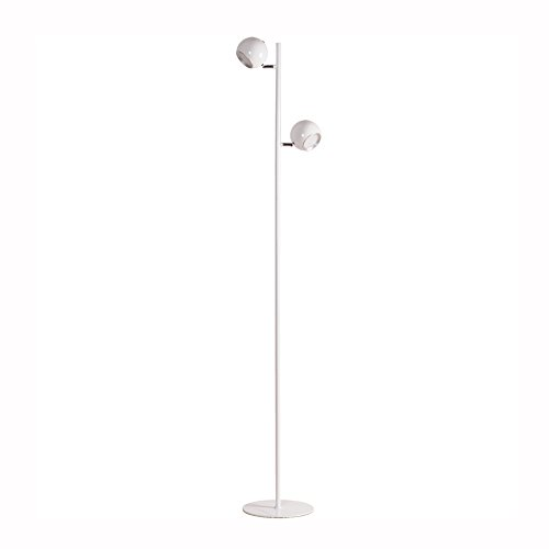 Nordic minimalistische vloerlamp LED smeedijzeren kleur creatieve ronde verstelbare vloerlamp creatieve aansteker verstelbare vloerlamp voor studie of woonkamer Office Café Loft, H150cm 9W