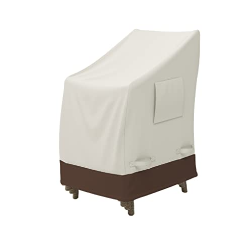 Amazon Basics Outdoor Stackable-Chair Patio Furniture Cover