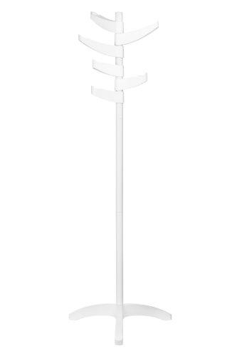 Premier Housewares - Perchero de pie (6 Brazos), Color Blanco