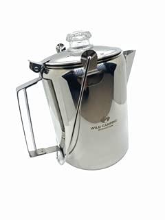 Wild Camping International stainless steel coffee percolator