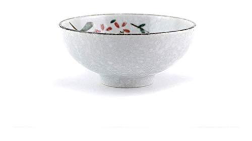 WSHFHDLC Cuenco de la Cultura Popular Cuencos de cerámica, cerámica casa Puestos de Nieve vajillas pintadas a Mano Chinos, 4,5 Pulgadas Cuenco de la Cultura Popular
