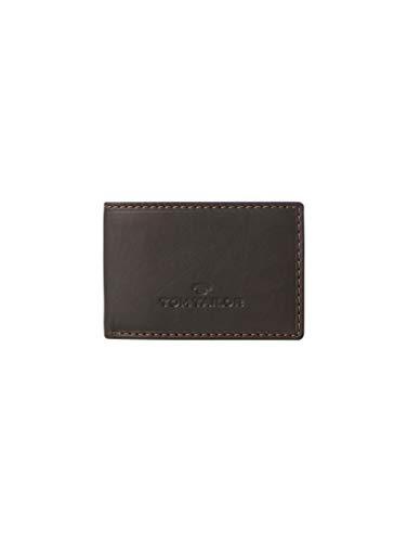 TOM TAILOR Herren Taschen & Geldbörsen Portemonnaie aus Leder braun/Brown,OneSize