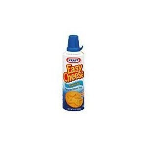 Kraft American Easy Cheese 8 Ounce - 3 Pack