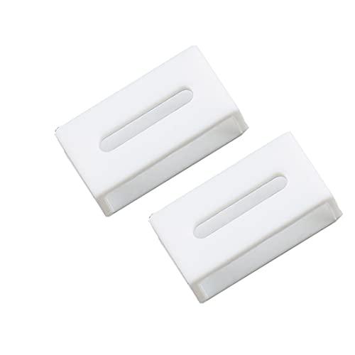 2個セット 時計 バンド ベルト ループ 遊環 for CASIO G-shock/PROTREK 対応ですが 交換用遊環修理 22.5mm ウレタンバンド ベルトループウレタン (white)