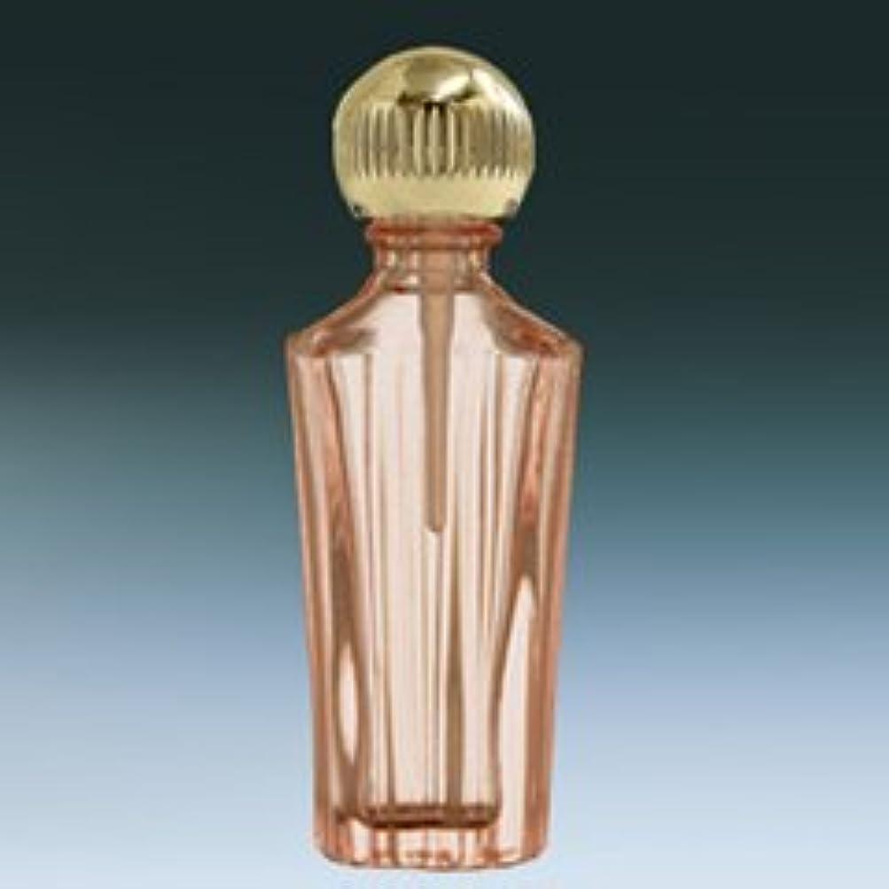 お尻ぜいたく緩やかな【ヤマダアトマイザー】パフュームボトル 小ビン 60631 ローマ ピンク1 ゴールド 約1.5ml