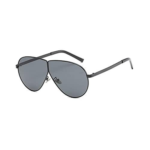 FEINENGSHUAI Nstyj Gafas de sol para mujer, 1 pieza de gafas de sol con parte superior plana para mujeres y hombres retro cuadrado oversize