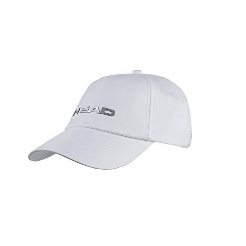 HEAD Performance cap, Berretto Unisex Adulto, White, One Size