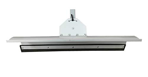Universal Schneeschild Schneepflug Grau pulverbeschichtet/Abmessungen 125 x 40cm / für Rasentraktor oder Einachsermaschinen / 5-Fach verstellbar