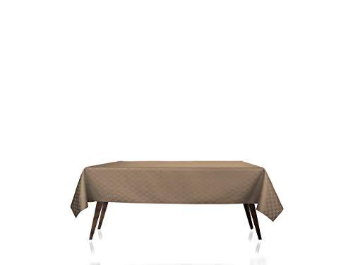 GEMITEX DAMINA Vlekbestendig tafelkleed 140X240 Taupe 11, Polyester