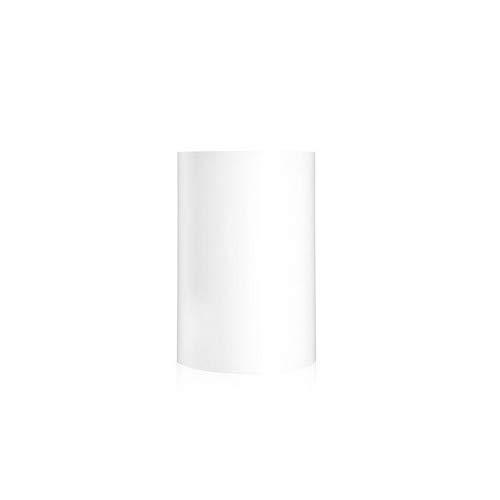 Kartell Papierkorb, Plastik, Weiß, 25 x 25 x 38 cm