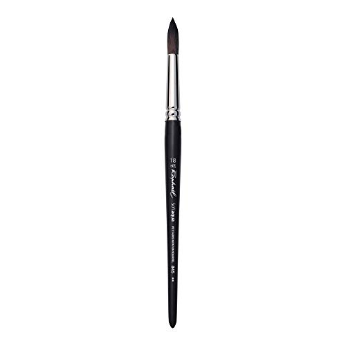 Raphael SoftAqua Synthetic, Watercolor Brush, Series 845, Round, Size 18