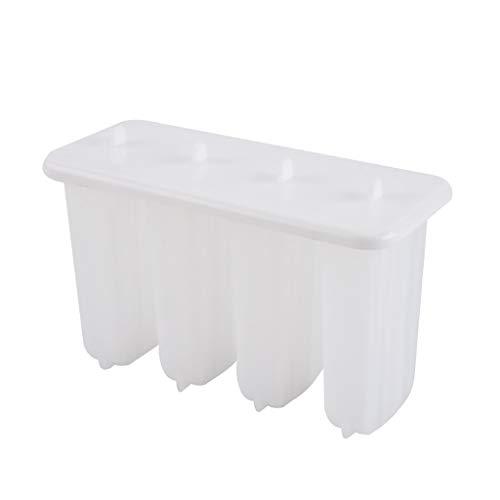Eariy 4-PCS Popsicle Formen Set,Wiederverwendbare Tablettform Eisform,DIY Homemade Eisform,FüR Kinder, Erwachsene,Mini Kühlschrank