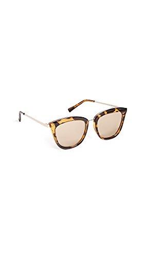 Le Specs Women's Caliente Sunglasses, Syrup Tort/Copper Revo, One Size