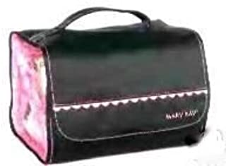 Mary Kay Travel Roll Up Bag with PINK RUFFLE TRIM ~ 4 Removable Pouches + Hanger To Hang Anywhere!