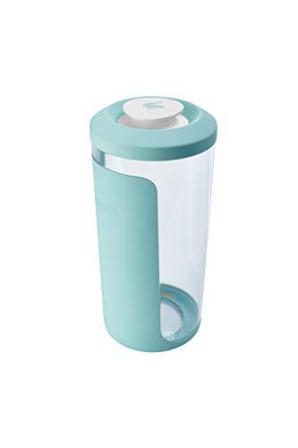 keeeper Cerealienbox, 2-in-1 Deckel mit Ausguss und Trichter, Anti-Rutsch Oberfläche, BPA-freier Kunststoff, 2,6 l, Ø 13,5 x 30 cm, Antonio, Mintgrün