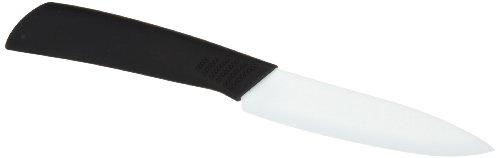 Axentia 200891 Keramikmesser 100 mm Klinge mit Softgriff