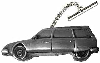 Classic French CX Estate ref49 effetto peltro su una spilla con catena