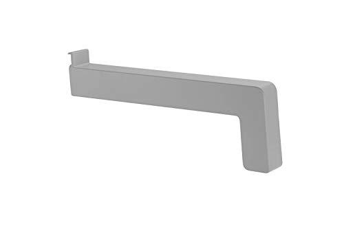 empasa Fensterbank Gleitabschluss Kunststoff 70-360 mm WEISS SILBER DUNKELBRONZE